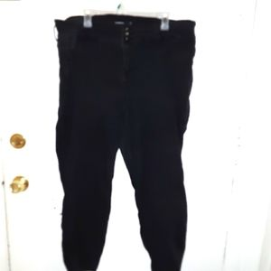 Black torrid three button jeans